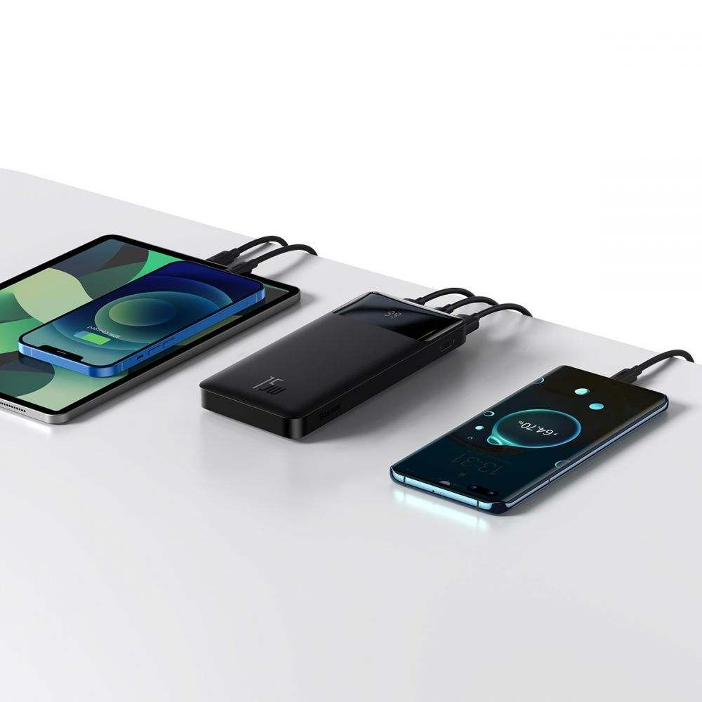 Baseus Bipow 15W Digital Display Power Bank 10.000 mAh