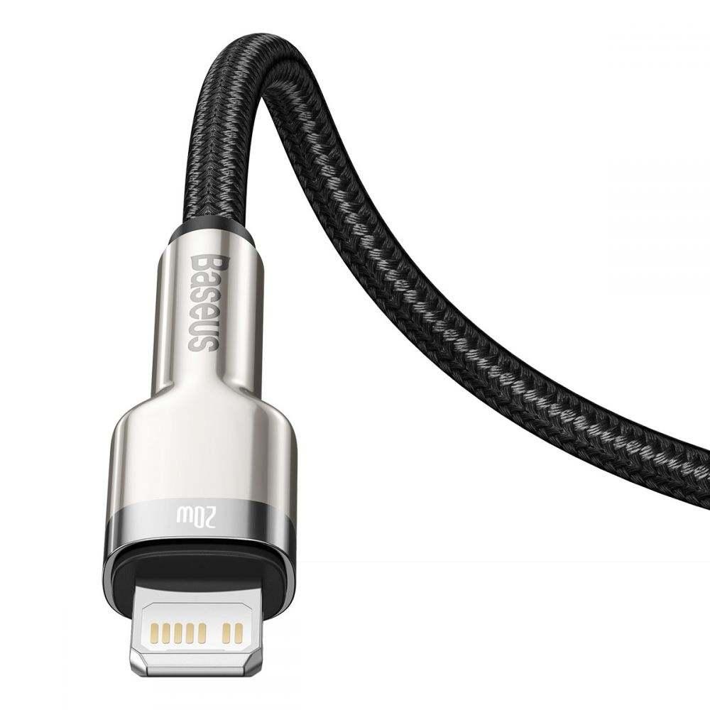 Baseus Cafule Metal Lightning PD20W kábel - 100 cm
