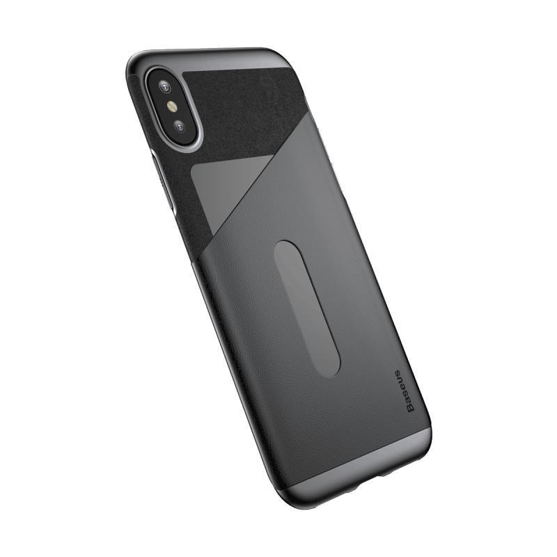 Baseus Card Pocket iPhone X/XS tok