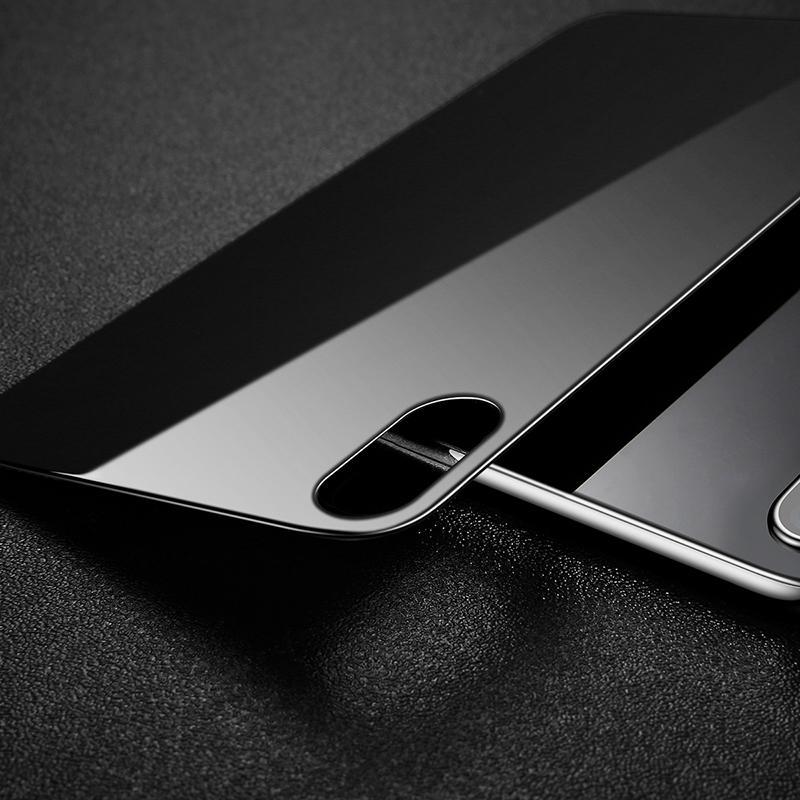 Baseus iPhone X/XS hátlapi üvegfólia