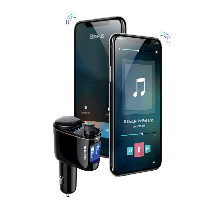 Baseus Locomotive Bluetooth MP3 autós töltő