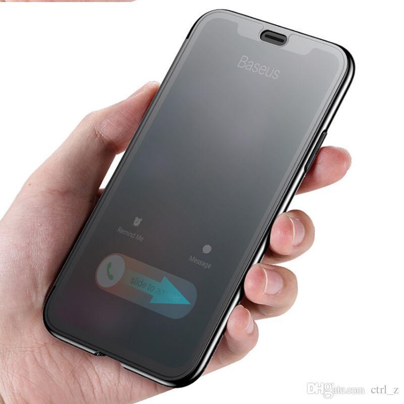 Baseus Slim Flip iPhone X/XS tok