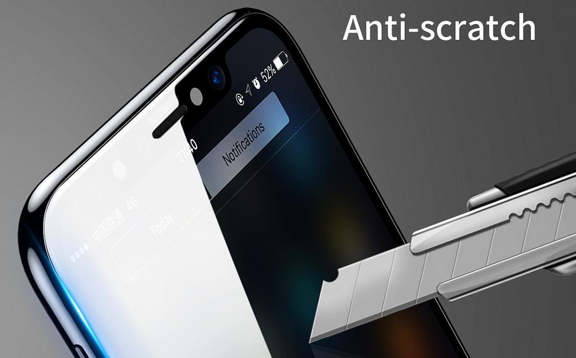 Baseus iPhone XS Max elő-és hátlapi üvegfólia
