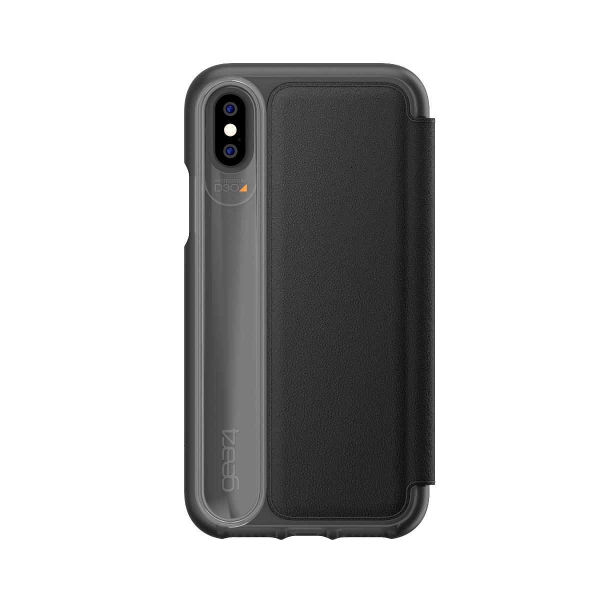Gear4 Oxford Bőr iPhone XS/X tok