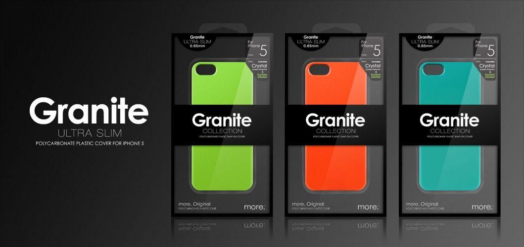 Granite Ultra Slim iPhone SE/5S/5 tok