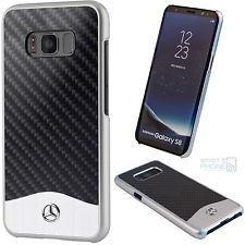 Mercedes Benz Wave V Carbon Fiber + Brushed Aluminium Galaxy S8 tok