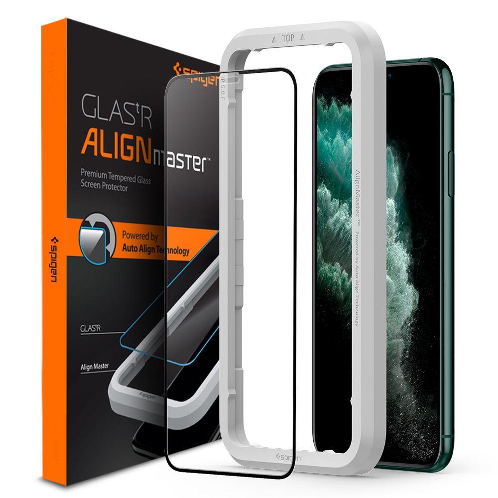 Spigen AlignMaster Glas.tR iPhone 11 Pro Max
