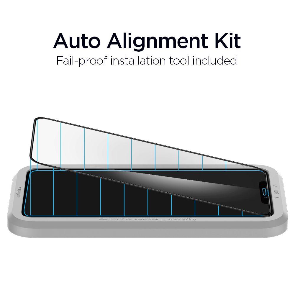 Spigen AlignMaster Glas.tR iPhone 11