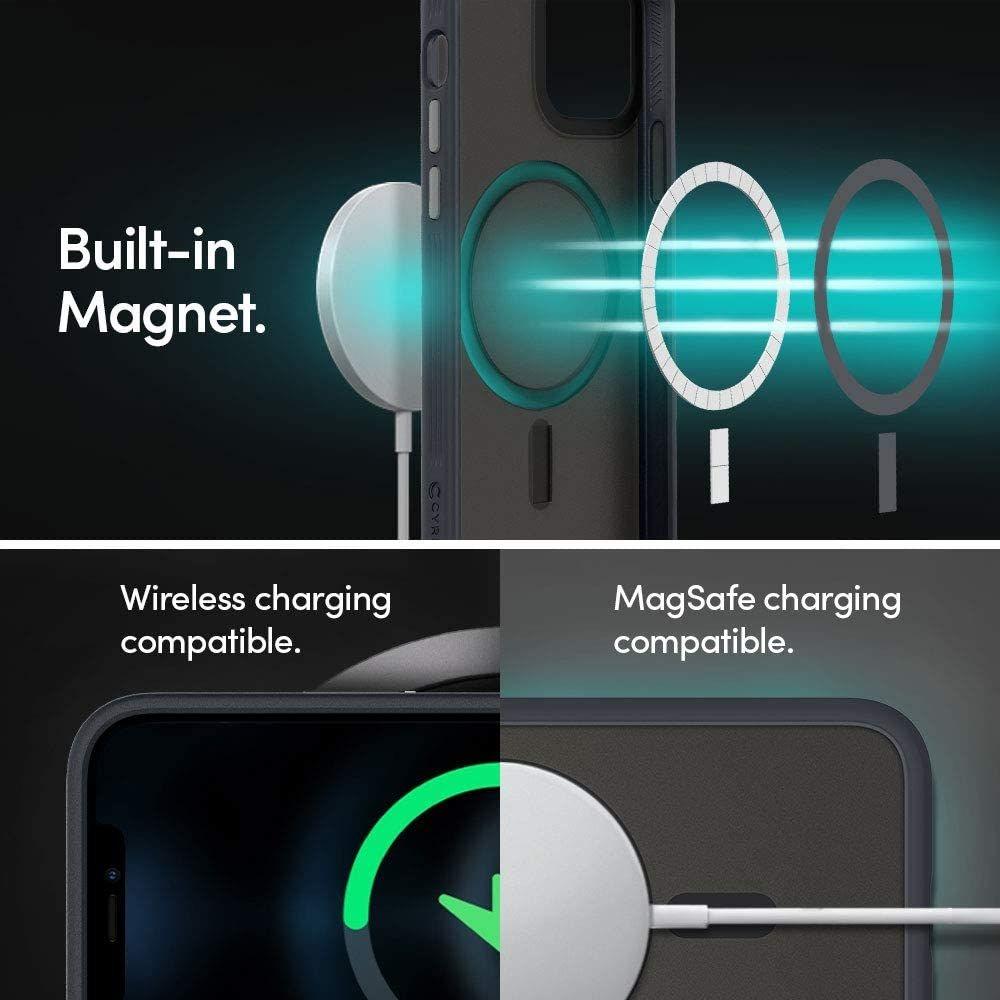 Spigen Cyrill Color Brick Mag Magsafe iPhone 12 Pro Max tok