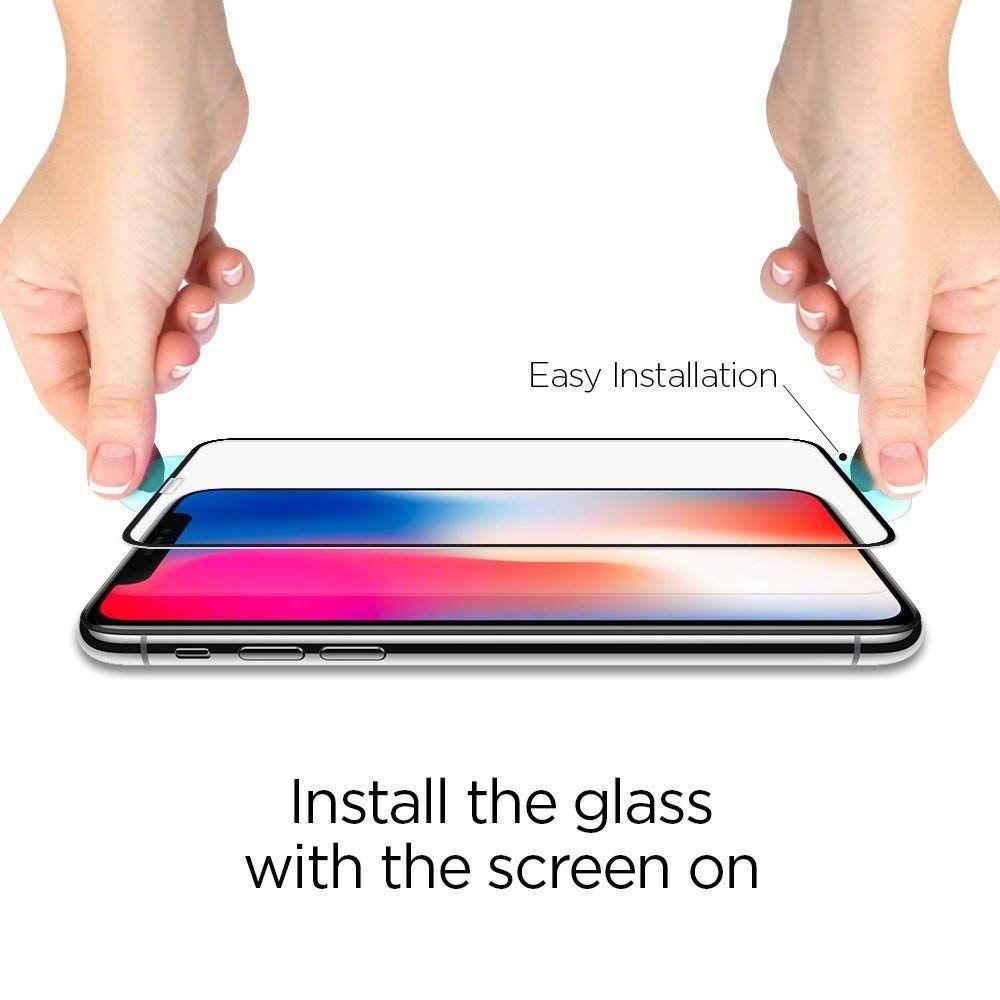 Spigen Full Cover iPhone X/XS/11 Pro üvegfólia