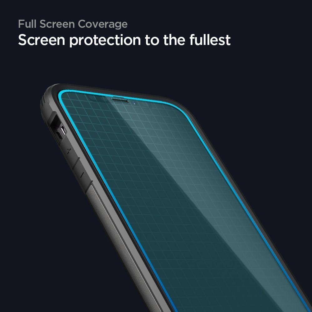 Spigen Glas.tR SLIM iPhone 12/12 Pro üvegfólia