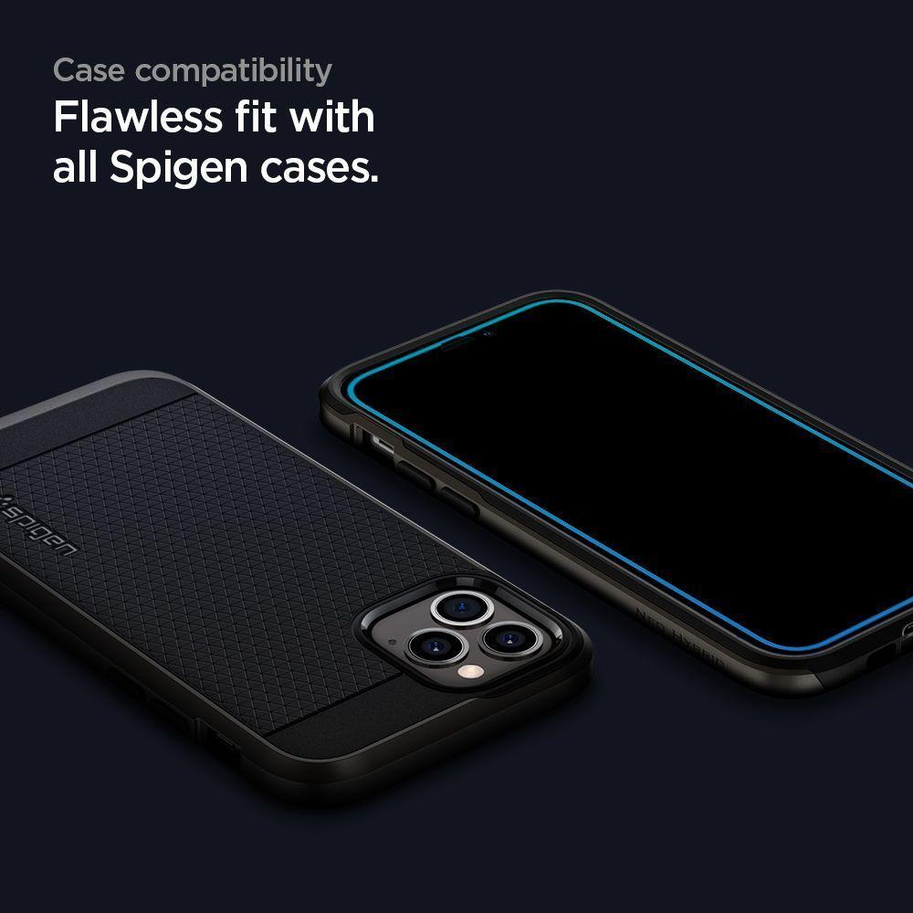 Spigen Glas.tR SLIM iPhone 12 mini üvegfólia