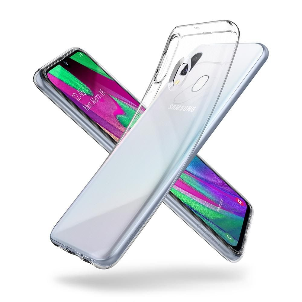 Spigen Liquid Crystal Galaxy A40 tok