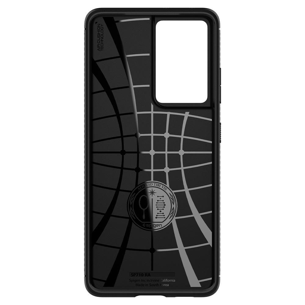 Spigen Rugged Armor Galaxy S21 Ultra tok